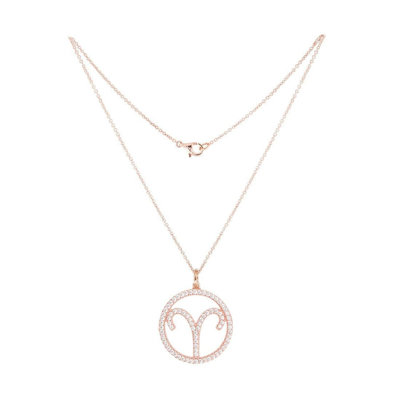 Aries Silver Necklace - Natkina