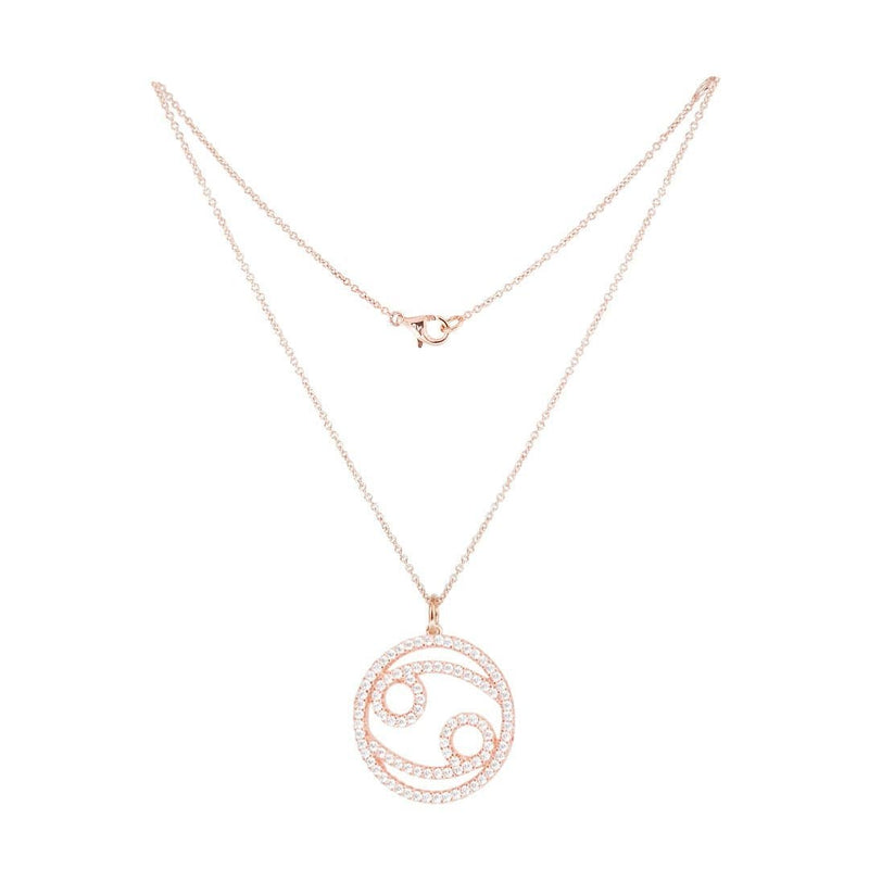 Cancer Silver Necklace - Natkina