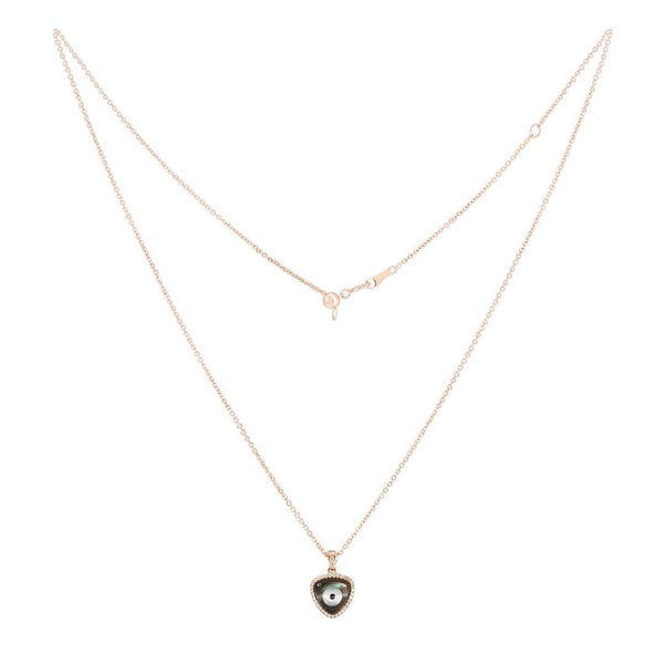 Cat Eye Rose Gold Necklace - Natkina