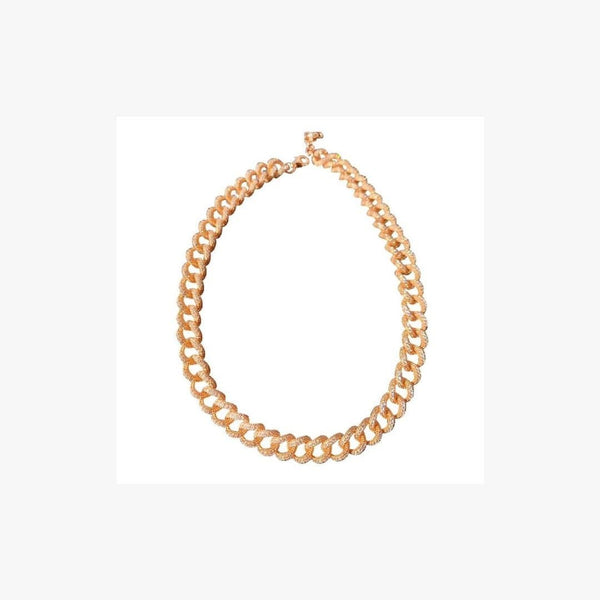 Chunky Curb Chain Necklace - Natkina