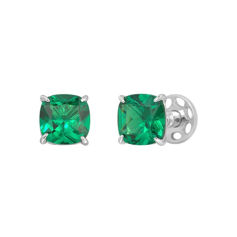 Cushion Cut Classic Diamond Studs - Natkina