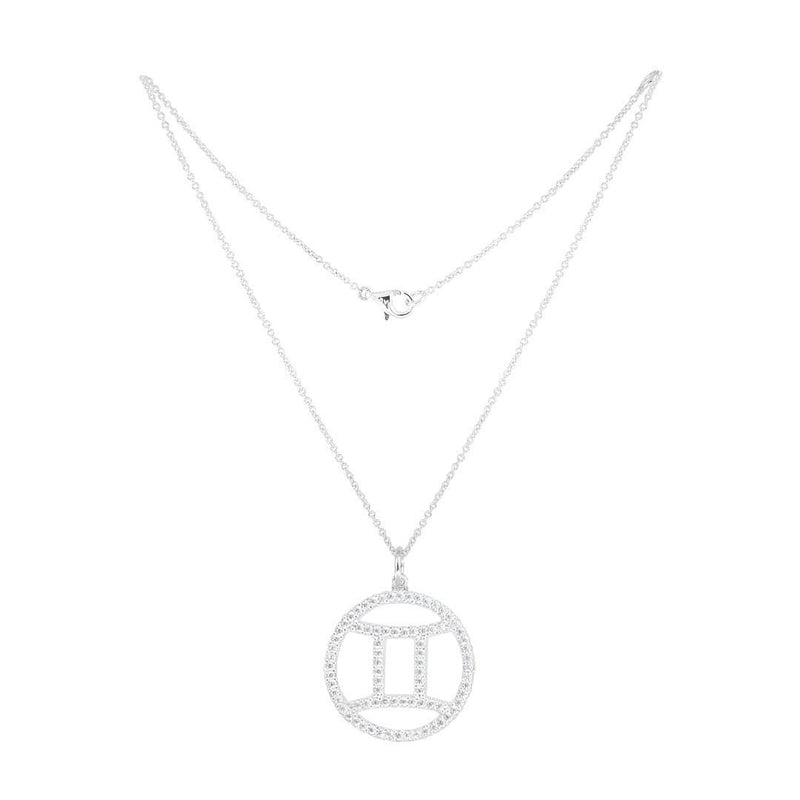Gemini Silver Necklace - Natkina