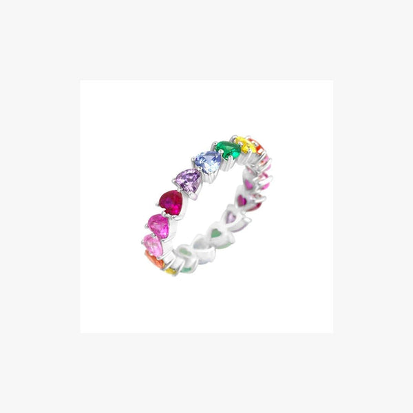 Heart pattern ring - Natkina