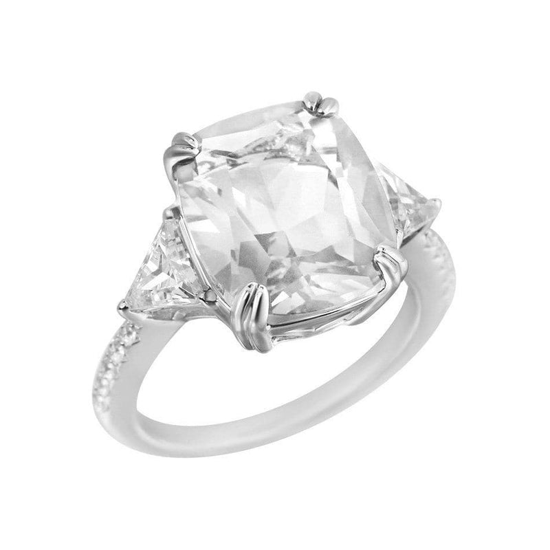 Karolina Cushion Cut Ring - Natkina