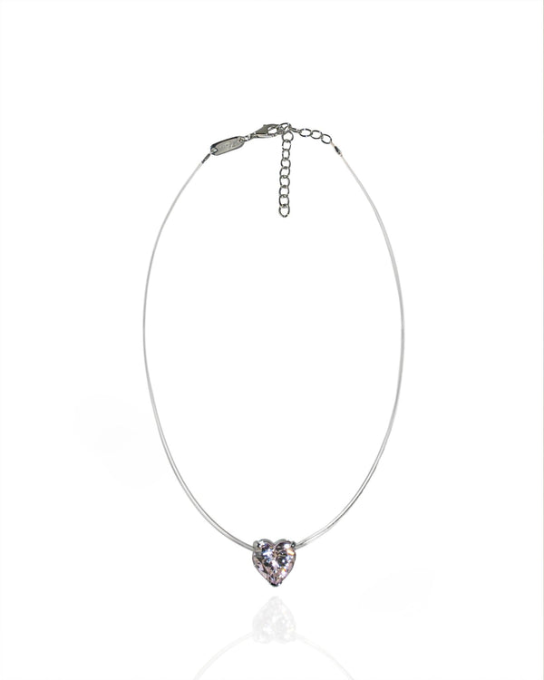 L'AROUSH Fine Heart Necklace - Natkina