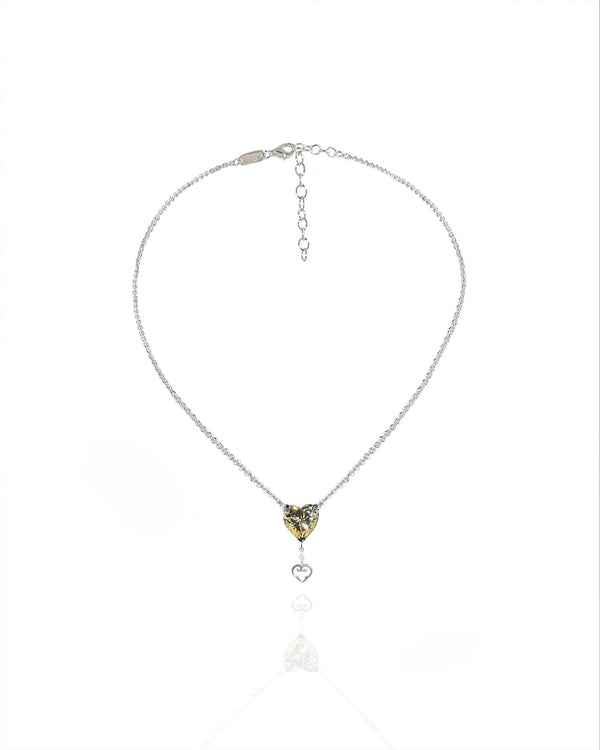 L'AROUSH Heart Feminine Necklace - Natkina