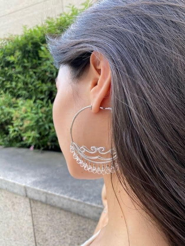 L'AROUSH Hoop Earrings - Natkina