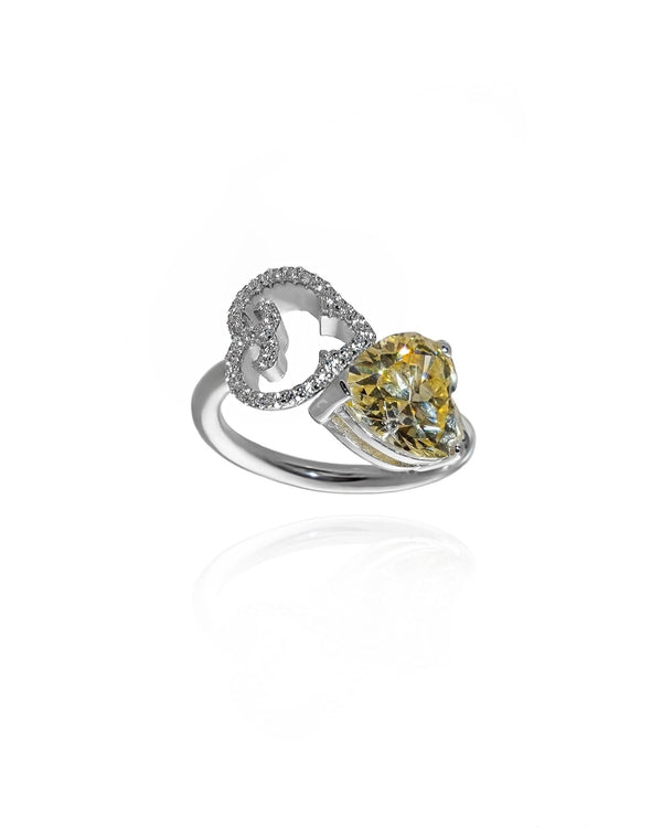 L'AROUSH Special Heart Ring - Natkina