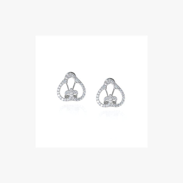L'AROUSH Stud Silver Earrings - Natkina
