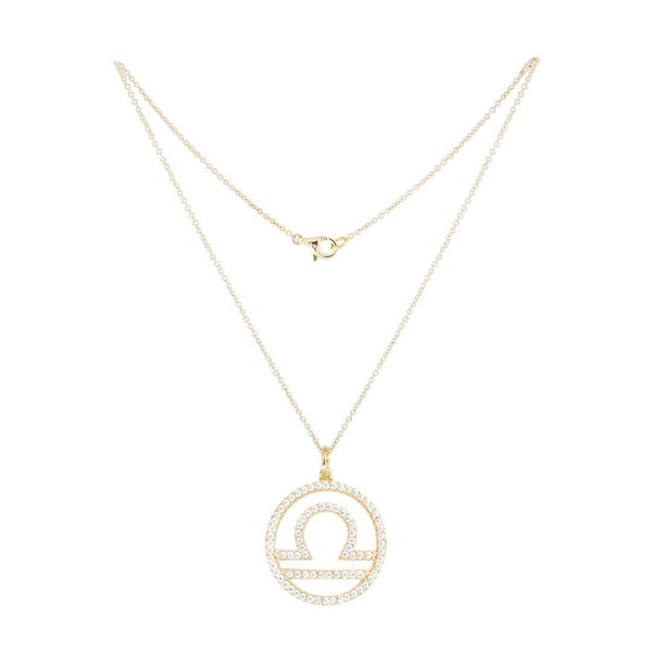 Libra Silver Necklace - Natkina