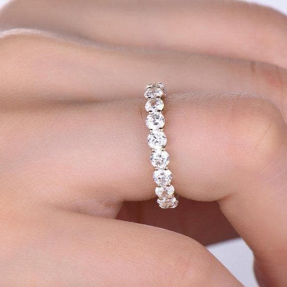 Matching Wedding Diamond Ring - Natkina