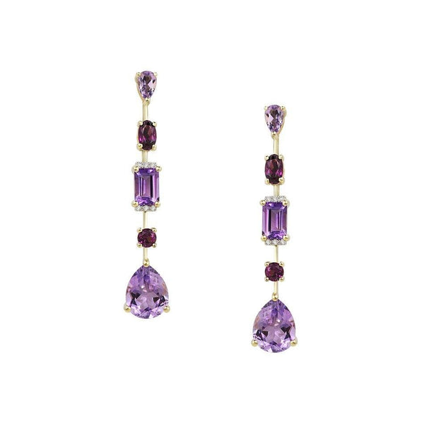 Mila Amethyst Earrings - Natkina