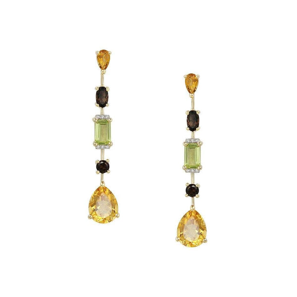Mila Citrine Earrings - Natkina