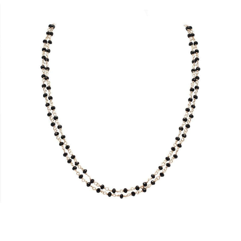 Personalise Your Double Beads Necklace - Natkina