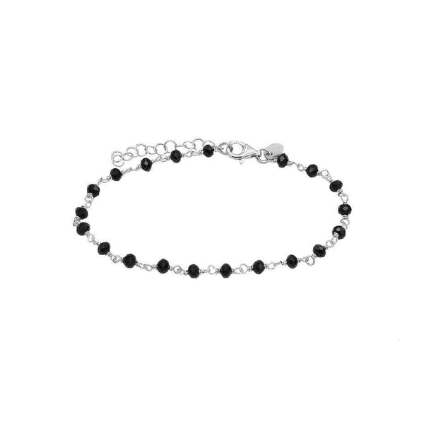 Personalise Your Silver Beads Bracelet - Natkina