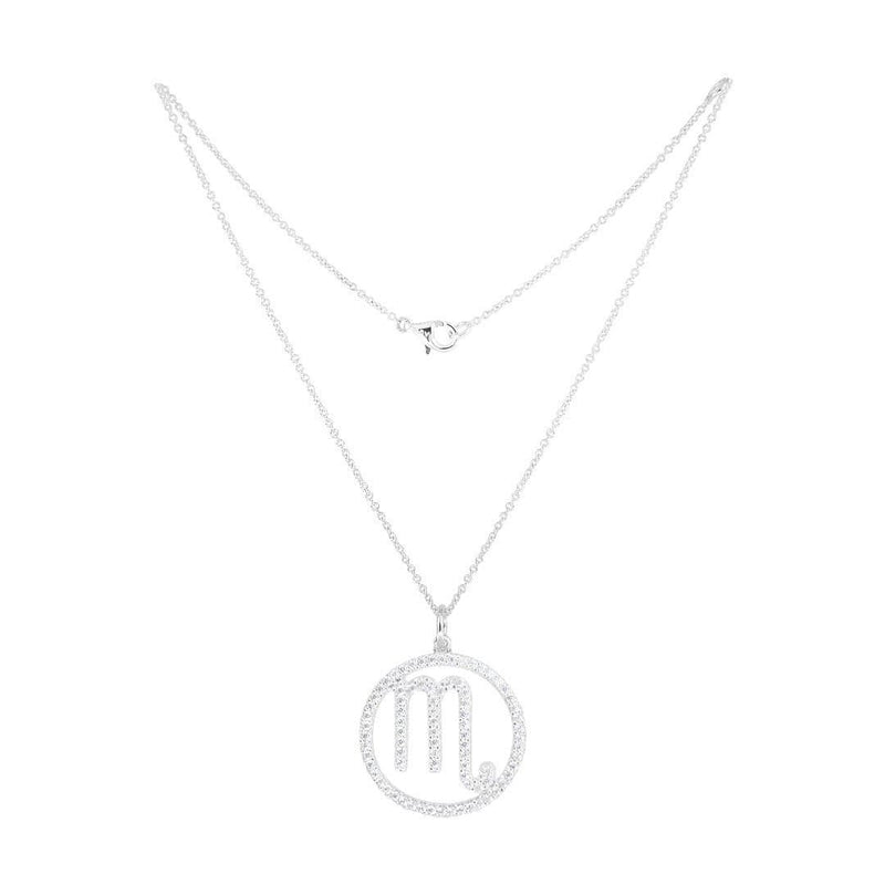 Scorpio Silver Necklace - Natkina