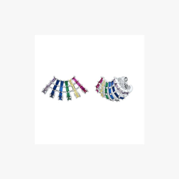 Shell Rainbow Earrings - Natkina