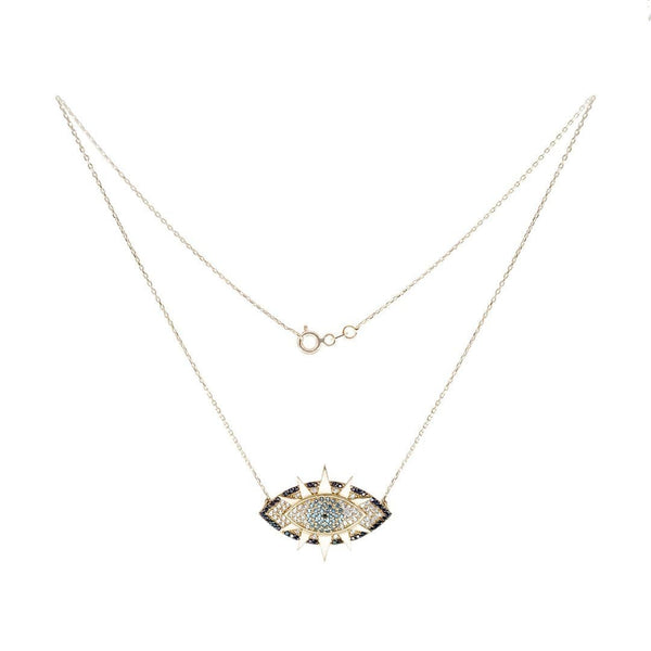 Star Eye Gold Necklace - Natkina