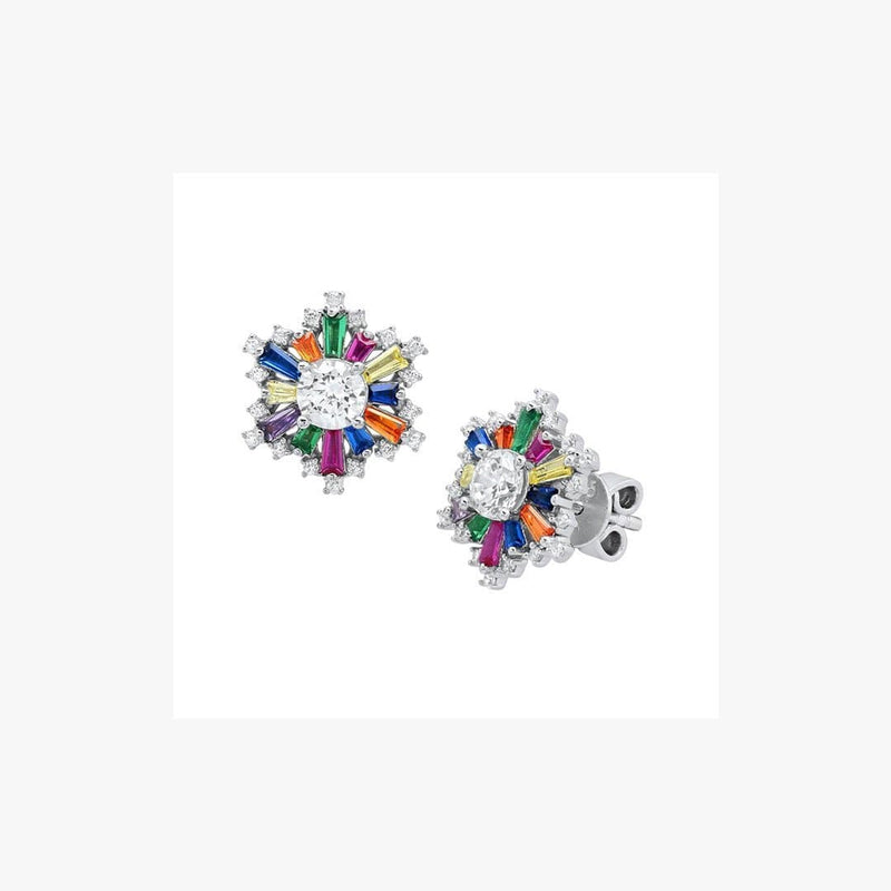 Sun Rainbow Stud Earrings - Natkina