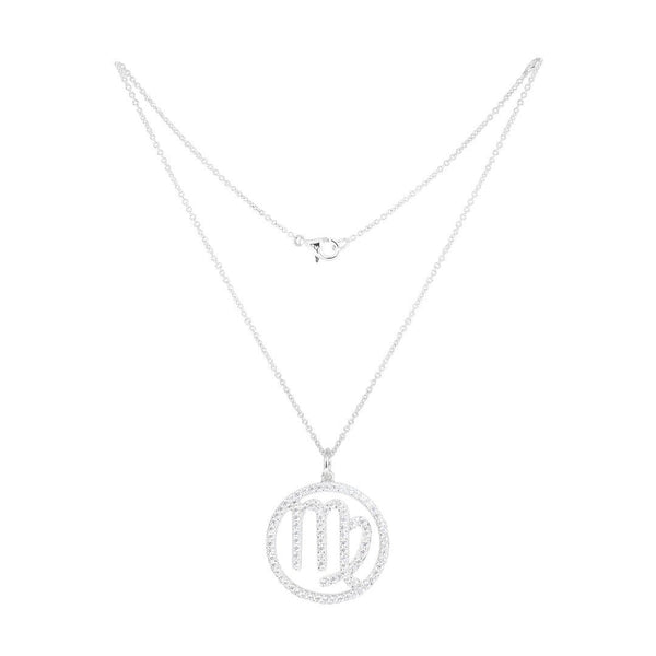 Virgo Silver Necklace - Natkina
