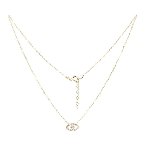 White Eye Necklace - Natkina