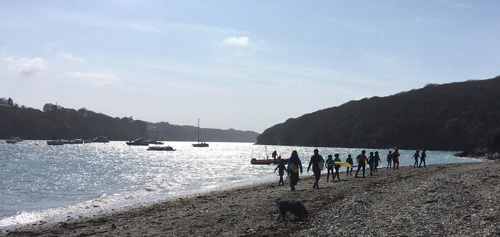 The Helford, Cornwall - near our brew house and where most of the Jack's crew live