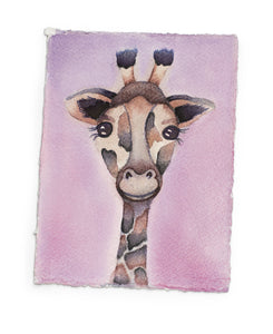 Brush Babies Paint with Me Kit Baby Giraffe