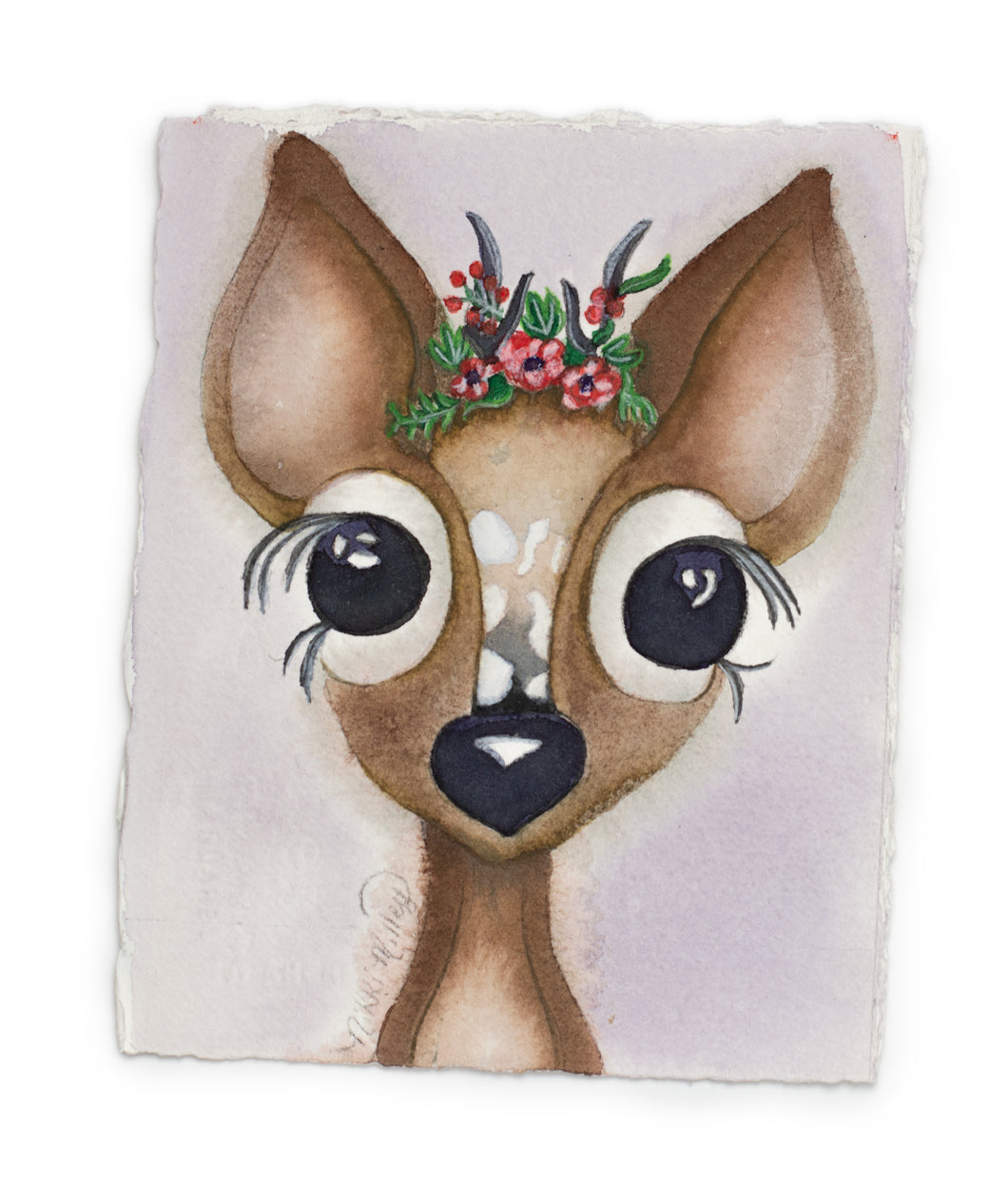 Brush Babies Paint with Me Baby Deer Watercolor