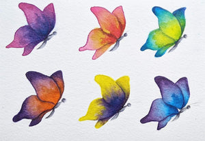 """Butterfly Repeat"" Fine Art Print"