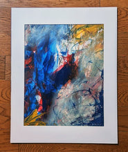 Load image into Gallery viewer, Floating Acrylic Abstract on Canvas