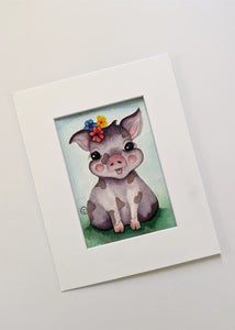 Brush Babies Paint with Me Pig Watercolor