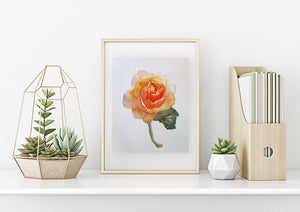 """Rose in Yellow"" Fine Art Print"
