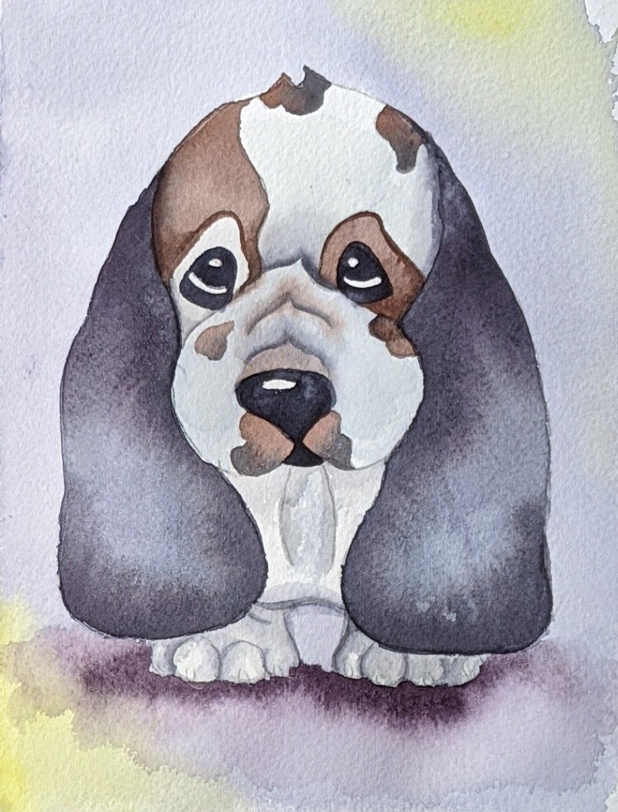 Brush Babies Paint with Me Baby Hound Kit