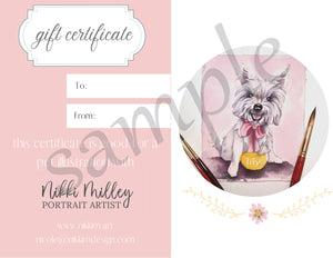 Custom Pet Illustration Adorable Cartoon Style