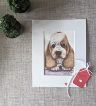 Load image into Gallery viewer, Custom Pet Illustration Adorable Cartoon Style