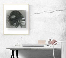 "Load image into Gallery viewer, ""Rats Nest"" Fine Art Print"
