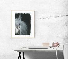 "Load image into Gallery viewer, ""White Horse Wild Heart"" Fine Art Print Limited Edition"