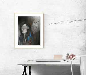 """Who's There?"" Fine Art Print Limited Edition"