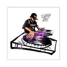 Load image into Gallery viewer, DJ O.G.ONE Signature Fan Square Stickers