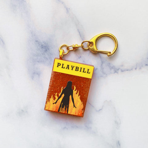 The Destruction Showgram Keychain