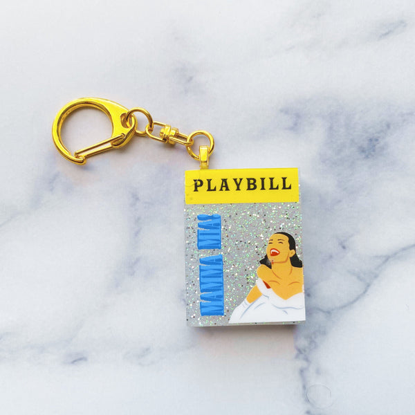 Dancing Queen Showgram Keychain