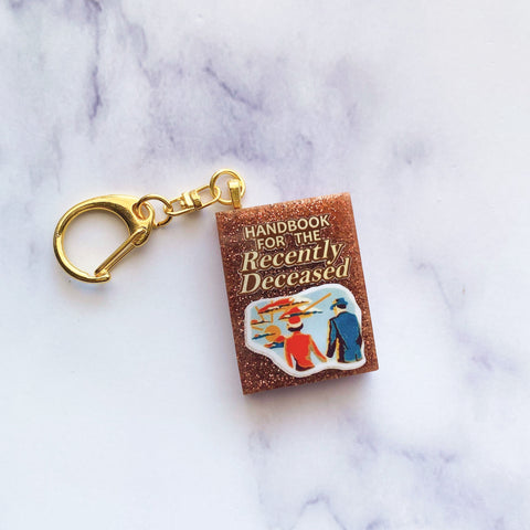Recently Deceased Keychain