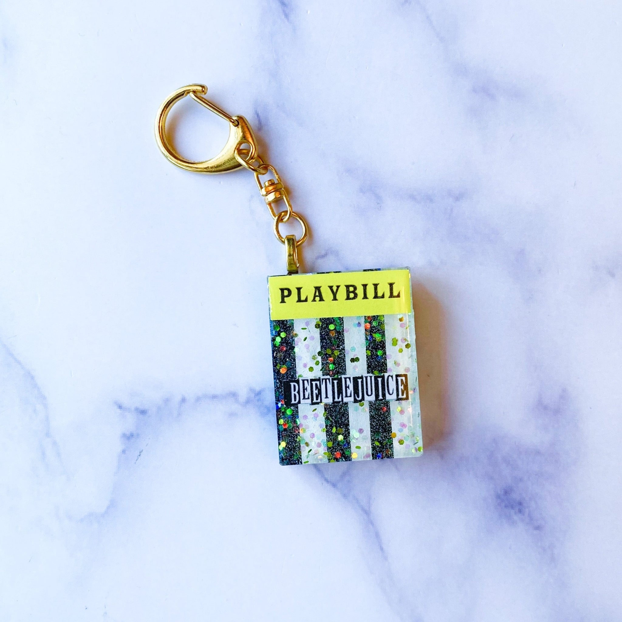 Say My Name Showgram Keychain
