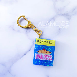 She Used To Be Mine Showgram Keychain