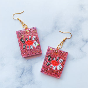 Burn Book Earrings - Play It By Ear Collection
