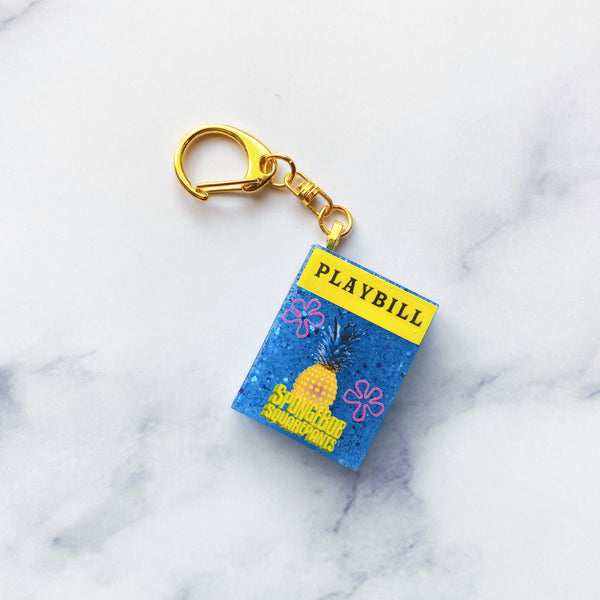 Just a Simple Sponge Showgram Keychain