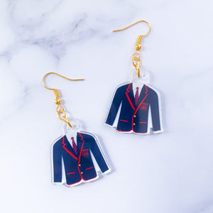Somewhere Only We Know Acrylic Earrings - Play It By Ear Collection