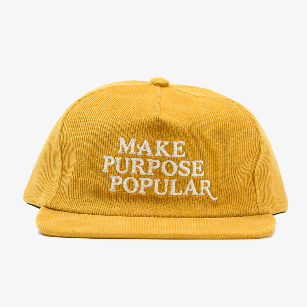 """Make Purpose Popular"" Hat"