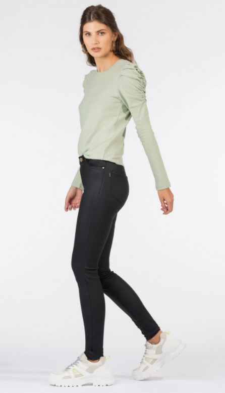 PANTALON SIMILI NOIR 10036702 TIFFOSI