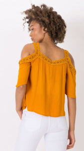 BLOUSE GOLD 10038044 TIFFOSI
